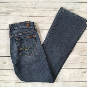 7 For All Mankind Bootcut Jeans 7FAMK Size 26